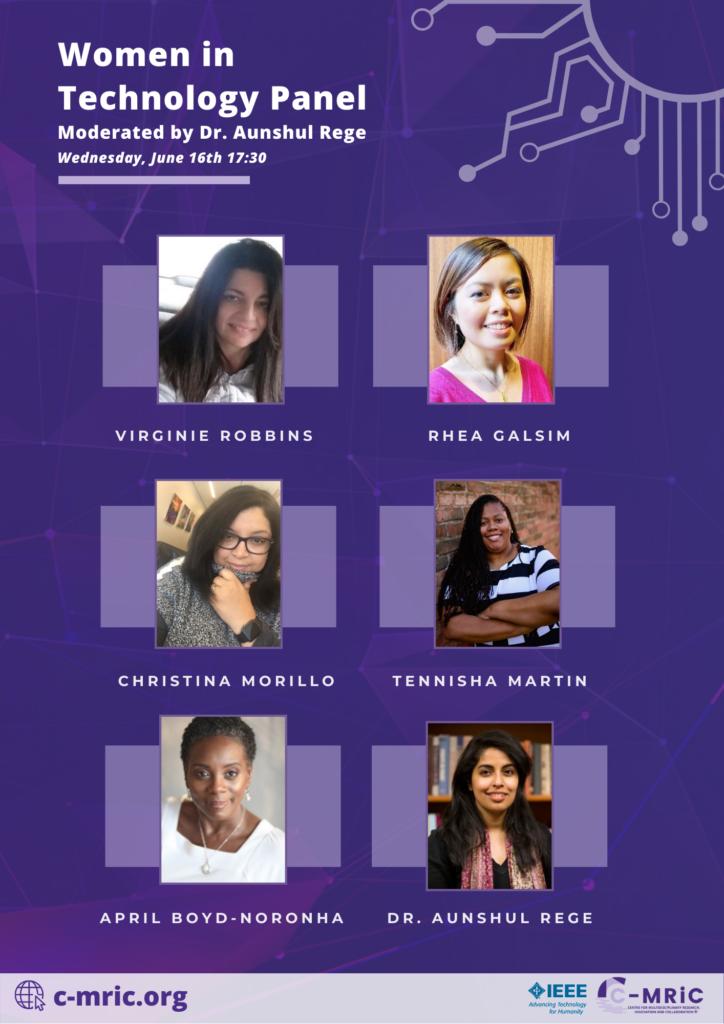 women in technology panelists